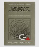 Geologisch Tektonische Übersichtskarte Vorarlberg und Liechtenstein